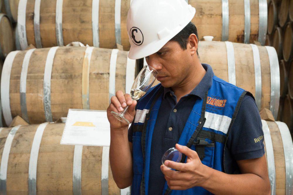 Jesús Rezan, maestro tequilero of Tequila Cazadores in Arandas, Jalisco, Mexico.
