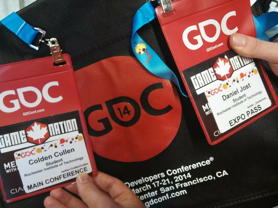 Our GDC badges