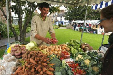 Glasgow fruit and vegetable market