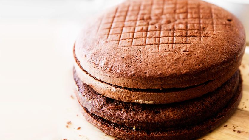 Легкий корж для торта