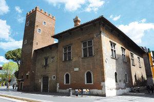 Lectura Dantis de Ted Cachey à la Casa di Dante, Rome
