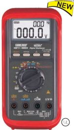 KM 711-6,000 COUNTS DUAL DISPLAY DIGITAL MULTIMETER WITH VFD FEATURE-KUSAM MECO
