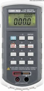KM-459 -Kusam Meco-DUAL DISPLAY AUTO-RANGING L-C-R METER-Q-D-R FUNCTION & PC INTERFACE