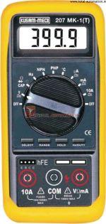 KM 207MK-1-T-AUTORANGING DIGITAL MULTIMETER-KUSAM MECO