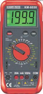 KM 6030-DIGIT LARGE DISPLAY DIGITAL MULTIMETER WITH TERMINAL LOCKING SYSTEM-KUSAM MECO