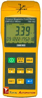 KM 192-Kusam Meco-DIGITAL TRAIXIAL ELF MAGNETIC FIELD METER