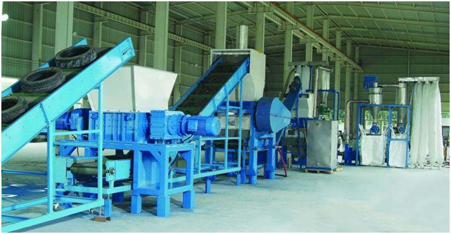 Заводы по переработке шин в россии