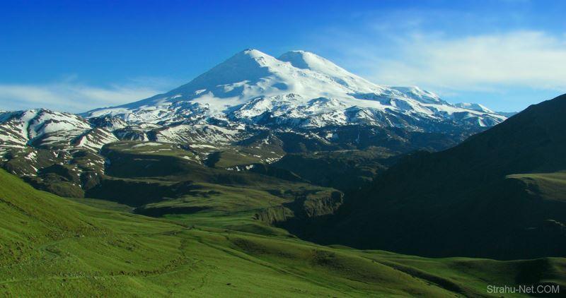 Эльбрус самая высокая гора кавказа