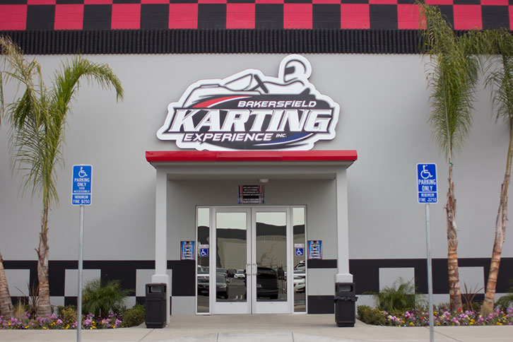 Bakersfield Karting Experience Entrance
