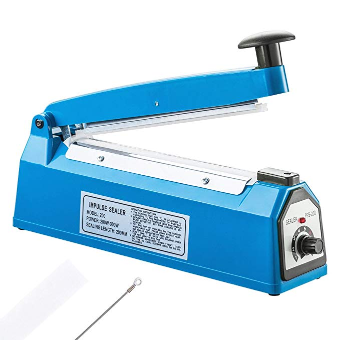 Cellophane heat sealer