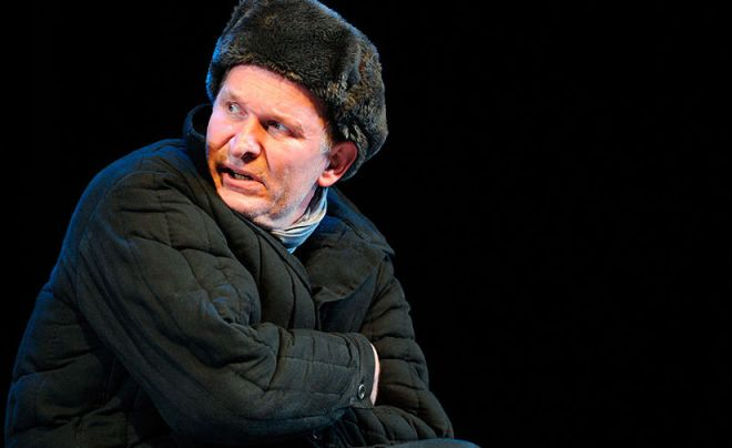 Федор Добронравов в спектакле «Незабываемые знакомства»