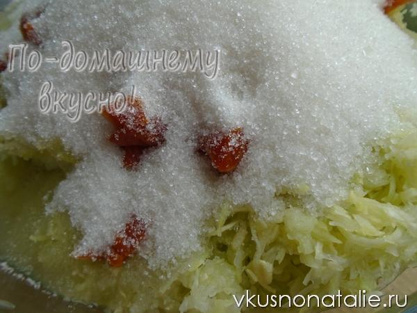 варенье из кабачков с курагой пошаговый рецепт с фото