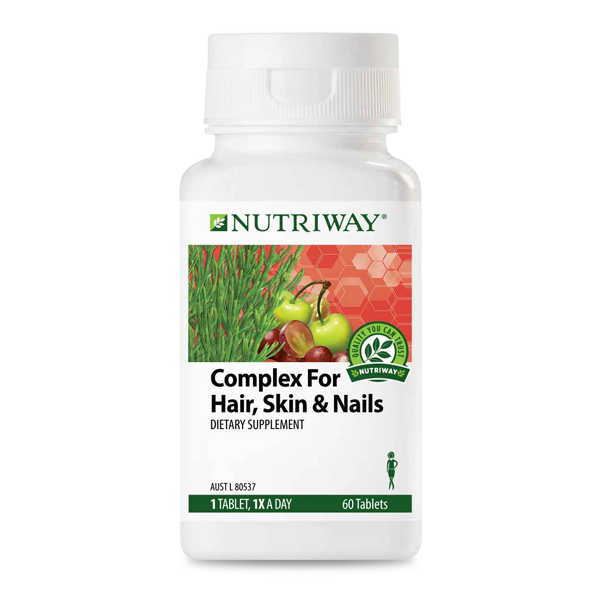 Amway complex for hair skin and nails