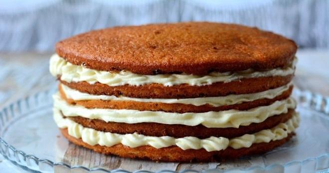 Коржи простые для торта