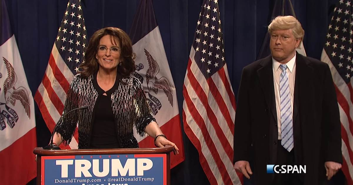 Tina fey palin speech