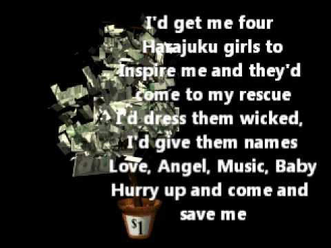 Gwen stefani - rich girl lyrics