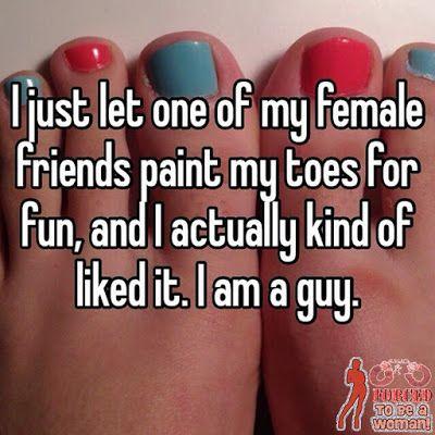 Sissy toenails