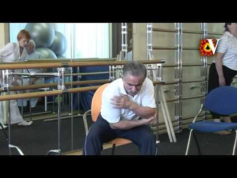 Плечеопаточный періартрит: МКБ-10, симптоми і лікування в домашніх умовах, ЛФК доктора Попова, відео