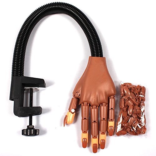Hand trainer for nails