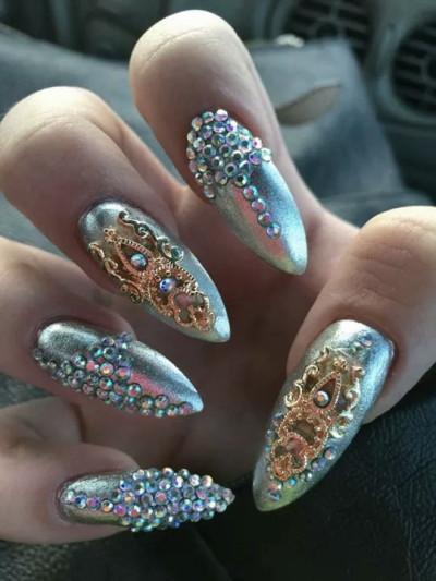 Mermaid nails tumblr