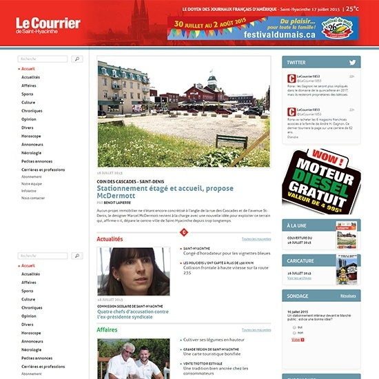 Le Courrier de Saint-Hyacinthe