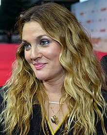 Drew barrymore tongue ring