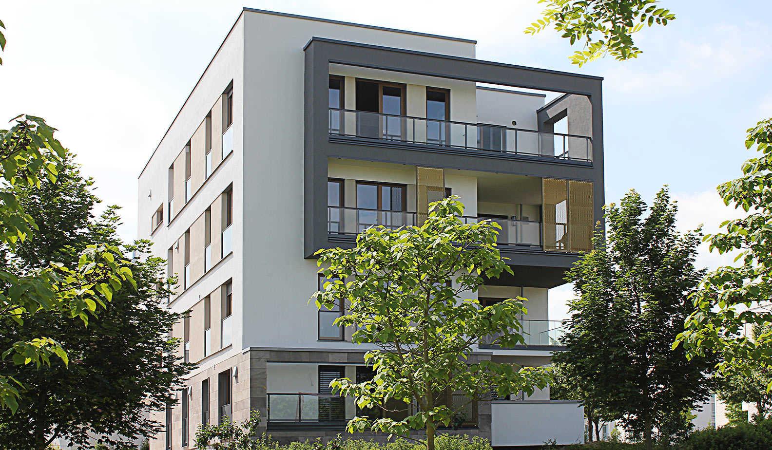 Architekturfarbe christian brandst dter projekt - Planquadrat architekten ...