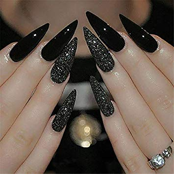 Long nails sharp