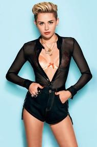 Голая актриса, певица Miley Cyrus фото, эротика, картинки - фотосессия из мужского журнала GQ на Xuk.ru! Фото 5