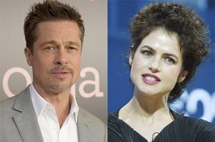 Брэд Питт начал ухаживать за Нери Оксман еще во время развода с Анджелиной Джоли