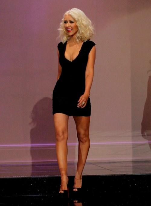 Певица Кристина Агилера (34)