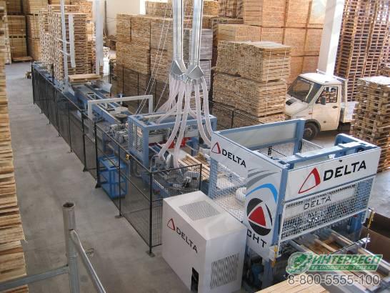 Автоматическая линия производства поддонов