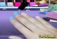 Games painting nails
