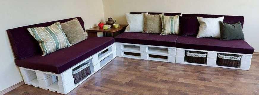 Как из поддонов сделать мебель