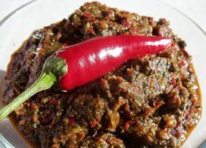 Аджика без помидоров: рецепт на зиму