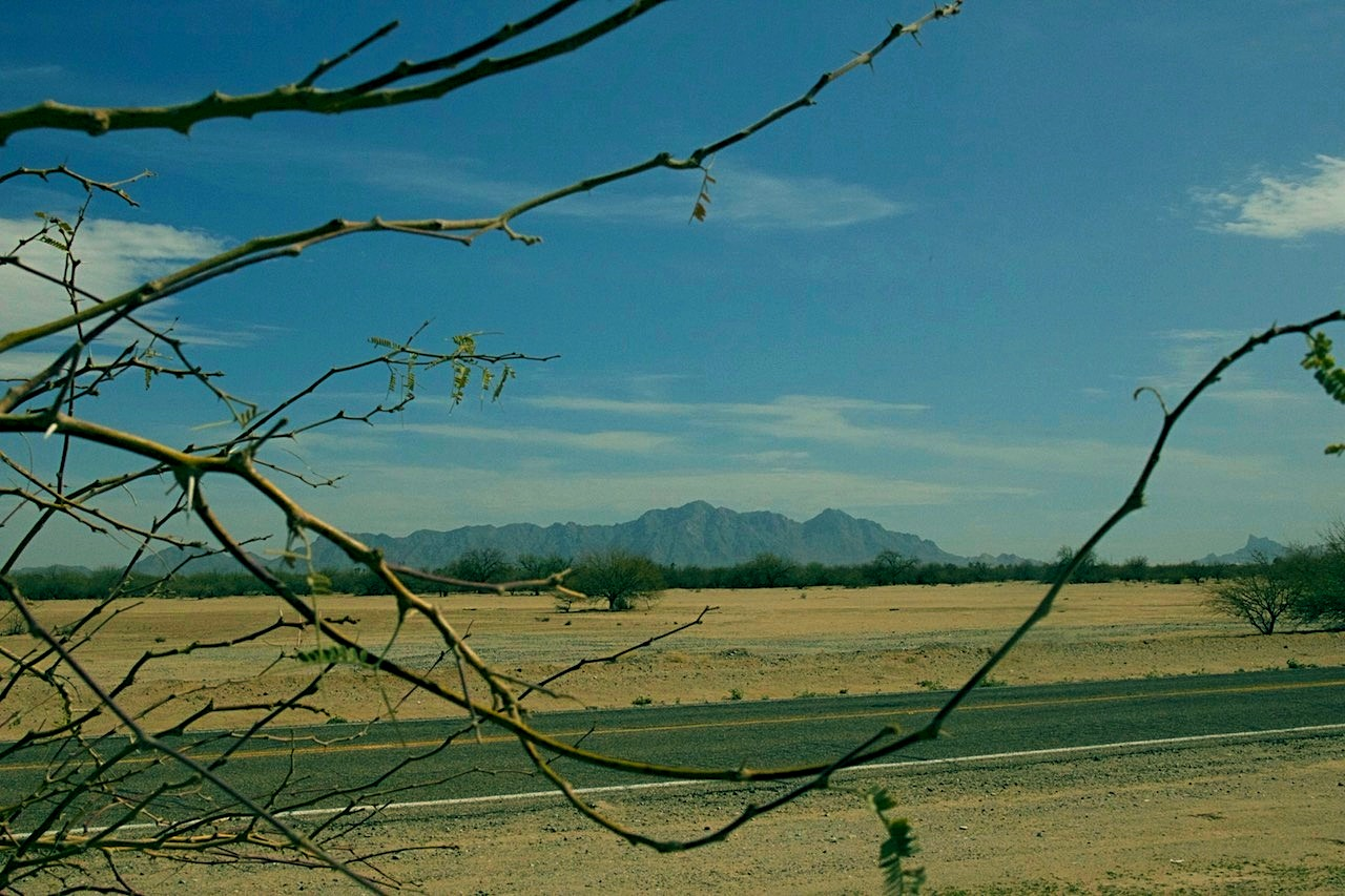 Beatiful View of Neweman Peak in Pinal County from the Corner of this Lot