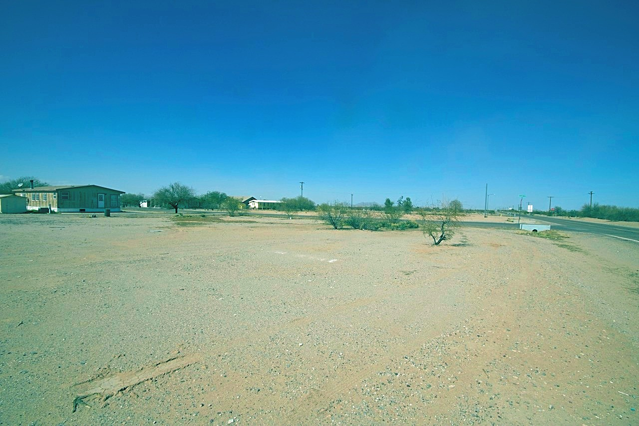 Picture Showing no Nearby Neighbors and the Vacant Land to the North East