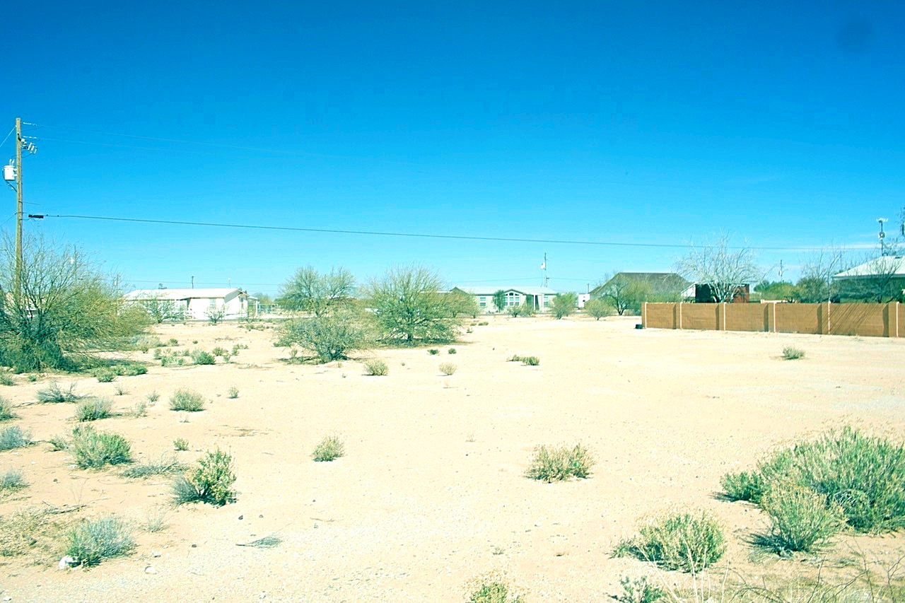View from the Front of the Lot looking towards Casa Grande showing Houses in Area