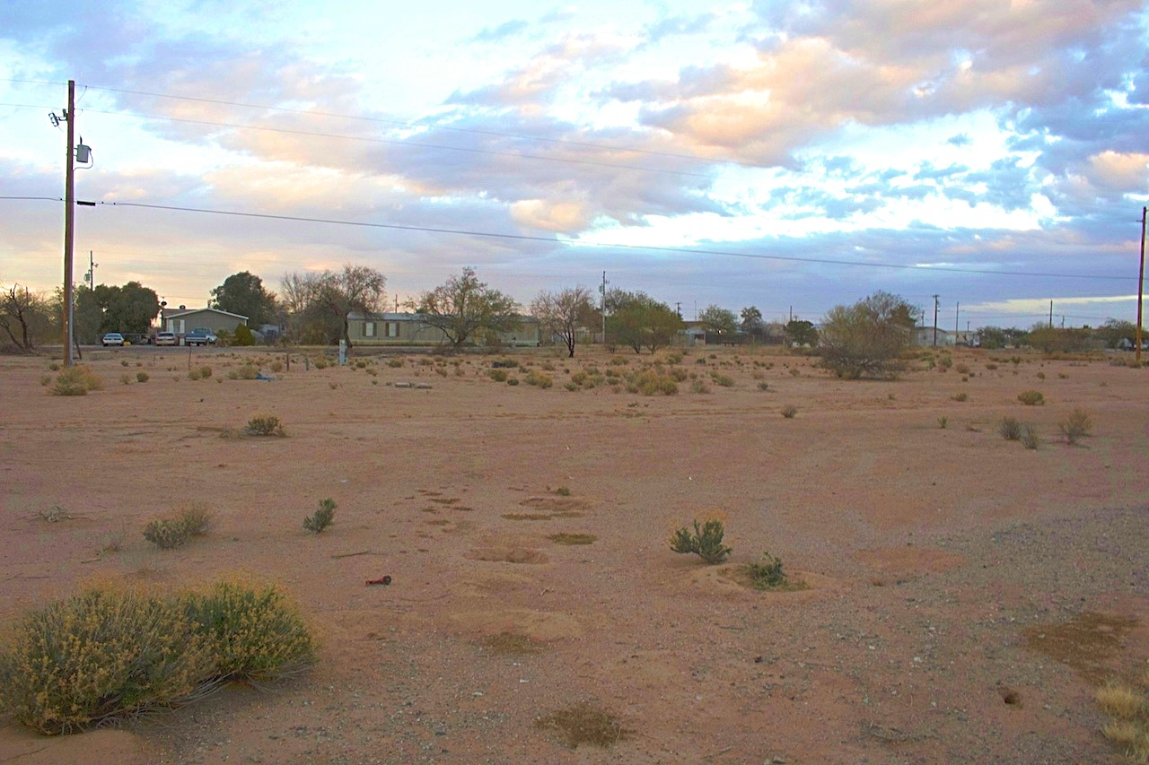 Electric Utilities and Utility Easement from 3350 W Paraiso Dr in Eloy Arizona