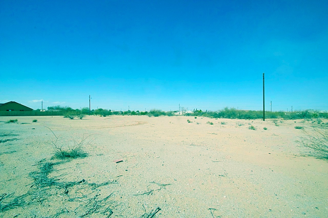 Views out East in the Open Parts of Pinal County from the Front of the Land