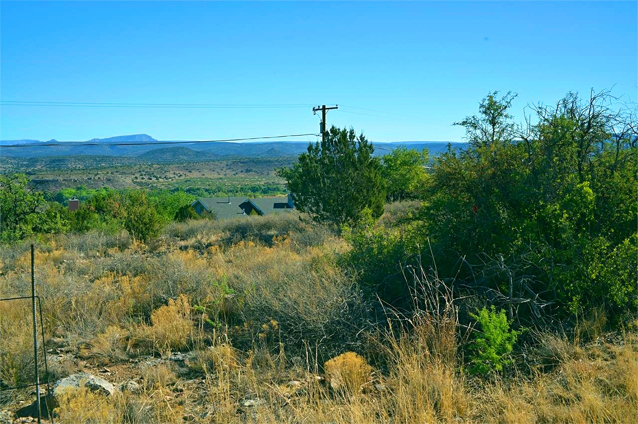 North East View from the Back Corner of the Lot For Sale in Rimrock Arizona