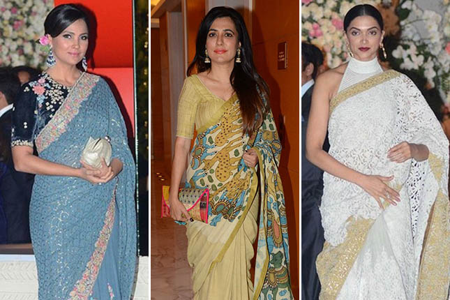 Bollywood celebrities sarees