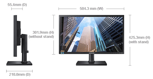 Samsung monitor adjust height