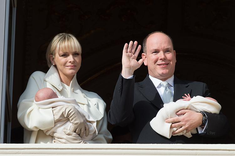 Князя монако альбер ii и его супруга шарлен