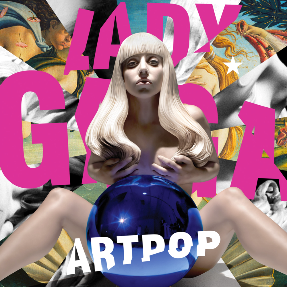 Cd artpop lady gaga