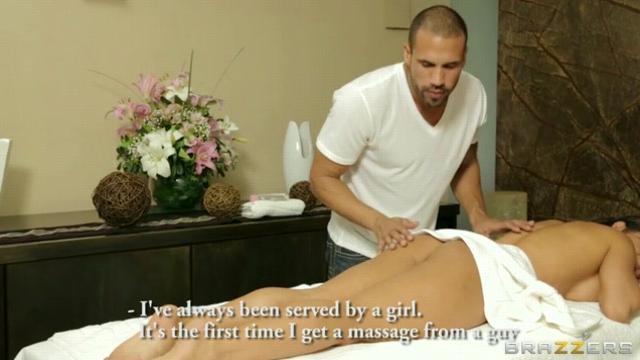 Интим массаж видео русский