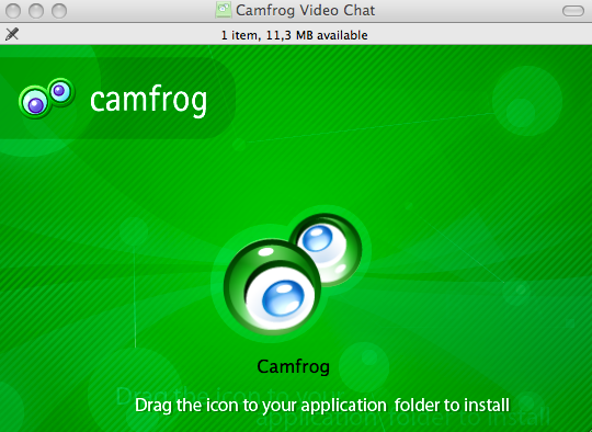Camfrog Video Chat freeware screenshot