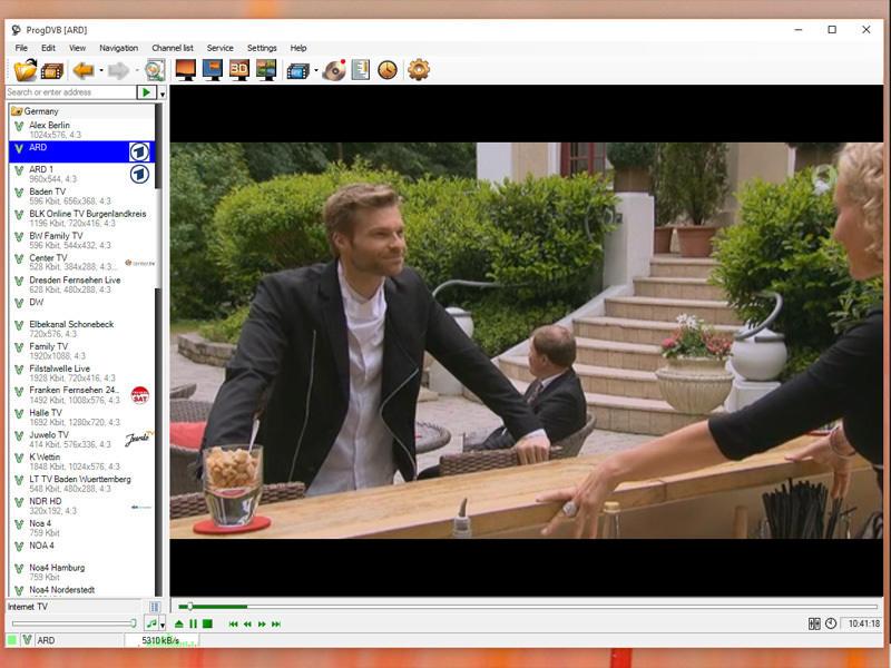 ProgDVB Professional screenshot