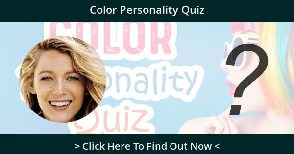 Color Personality Quiz