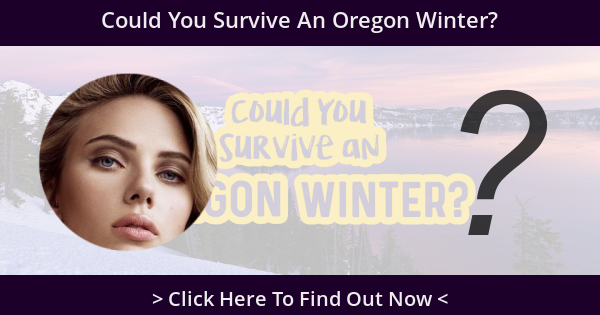 Could You Survive An Oregon Winter?